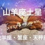 【辛口オネエ】山羊座土星は怖い?(1)山羊座・牡羊座・蟹座・天秤座へのメッセージ